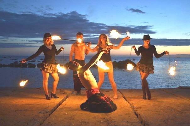 Группа фаер-шоу «Luminous»