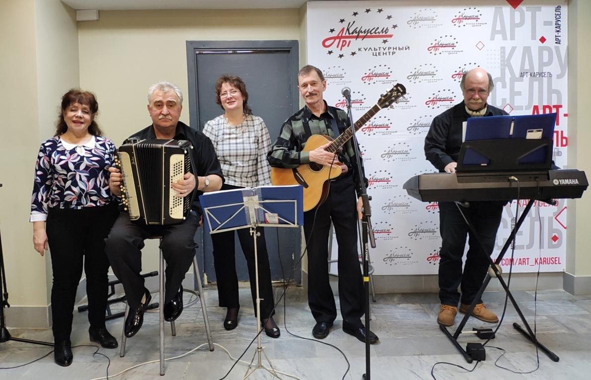 Вокально-инструментальный коллектив под руководством Андрея Качкина